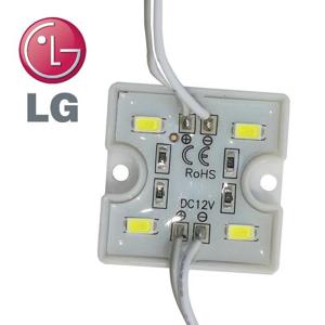 PREMIUMLUX LED Modul LG 4xSMD 5730 1,28W 80lm 12V STUDENÁ BÍLÁ